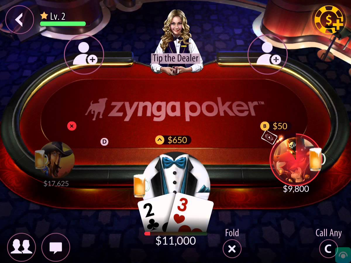 Zynga Poker Like a Family Activity