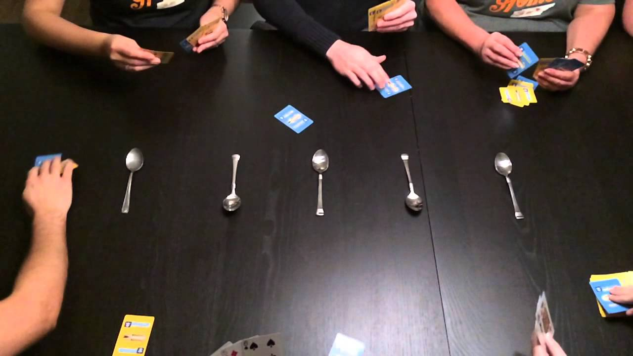 How you can Play Spoons Card Game